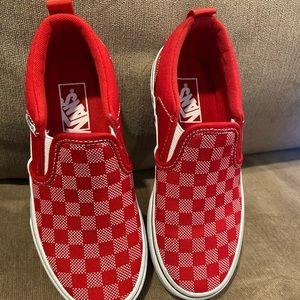 Vans slip on kids shoes size 13y